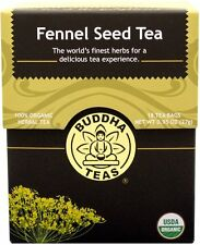 Fennel Seed Tea, Buddha Teas, 18 tea bag 1 pack