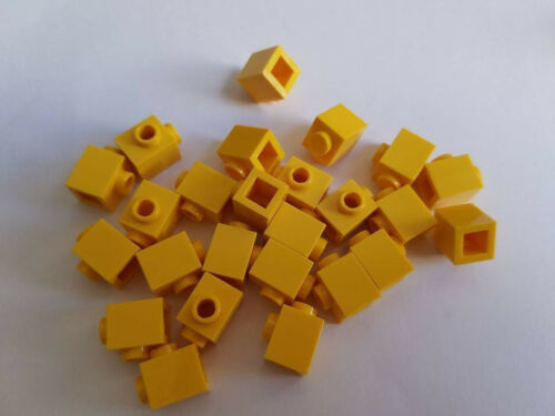 Element 4624985 New Part 87087 Qty:25 Lego Yellow Brick Modified 1x1