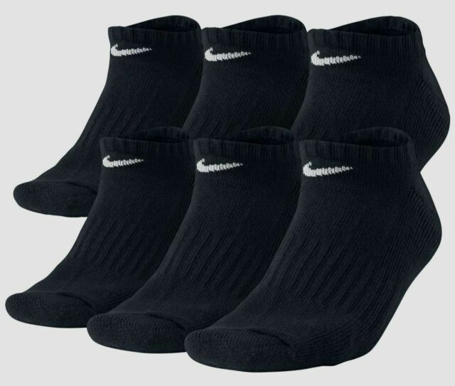 Nike Everyday Cushion No-Show Men's Training Socks - Pack of 6