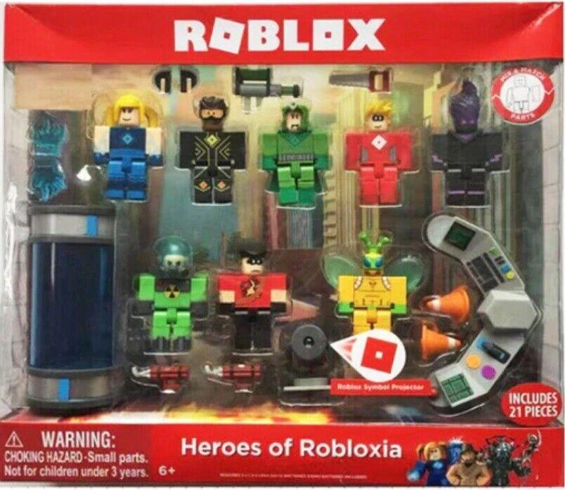 Roblox Champions se roblox 6 Figura Pack Inc 13 PEZZI NUOVO