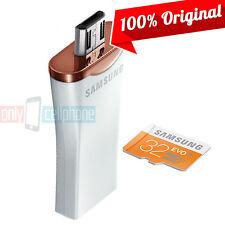 Samsung Flash Drive + 32 GB Micro SD Memory Card 3in1 OTG USB Class10