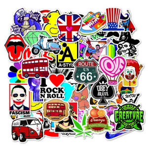 100-pcs-lot-Sticker-Bomb-Decal-Vinyl-Roll-Car-Skate-Skateboard-Laptop-Luggage
