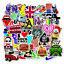 100-pcs-lot-Sticker-Bomb-Decal-Vinyl-Roll-Car-Skate-Skateboard-Laptop-Luggage thumbnail 1