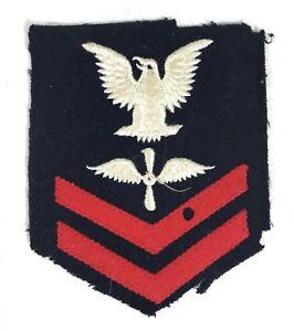 WWII-Original-U-S-Navy-Aviation-Machinist-Chevron-Patch