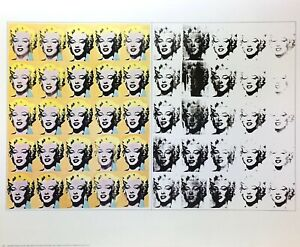 Andy Warhol Marilyn Monroe (1962) Poster Kunstdruck Bild 55,5x68,5cm