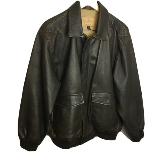 The Original James Dean Leather Jacket Bomber Mens