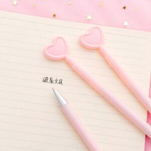Am-Creative-Pink-Heart-Shape-Ballpoint-Pen-Student-Office-Stationery-Supplies-L