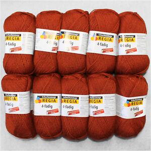 500g-Regia-4-Fach-Fuchs-2748-Sockenwolle-Schachenmayr-Wolle-stricken-Socken