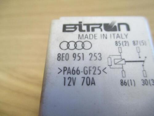 Relais 614 Arbeitskontaktrelais Audi A4 B6 B7 8E A6 4B 4F 8E0951253