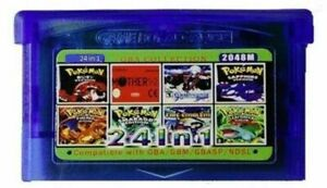 24-in-1-b-GameBoy-advance-GBA-Multi-Cart-Classic-90s-games