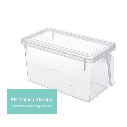 Refrigerator Storage Box Kitchen Accessories Food Container Rack Organiser Tray