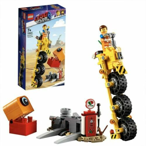 LEGO 70823 The Lego Movie 2 Emmet/'s Thricycle Set New /& Sealed Free Post