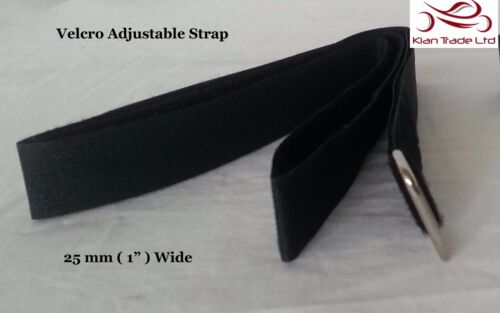 25x125cm Long Nylon HOOK LOOP Tie Down Buckle Wrap Band luggage Adjustable Strap