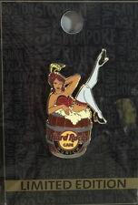 Hard Rock Cafe MUNICH 2015 Sexy BURLESQUE Girl in BARREL PIN - LE 200 HRC #85399