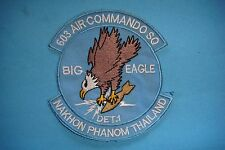 VIETNAM WAR BE PATCH US 603rd AIR COMMANDO SQ. DETACHMENT 1 IN THAILAND
