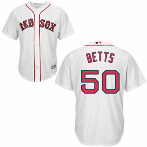 more photos ad0f9 2fb15 Details about Youth Boston Red Sox Mookie Betts Majestic Home Authentic  Cool Base Jersey