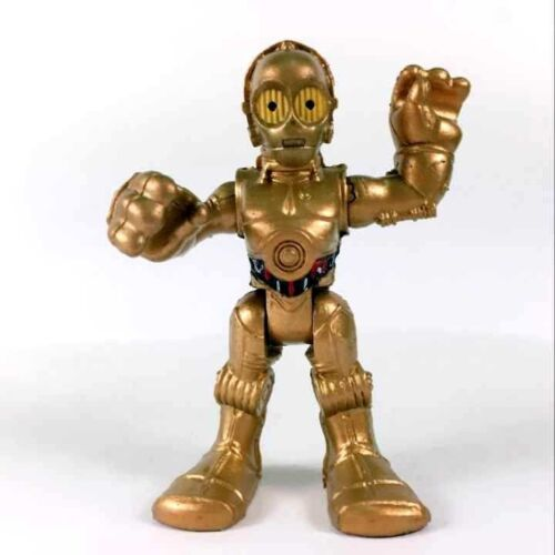 "2pcs Star Wars Playskool Galactic Heroes C3PO Foot Droid /& R2-D2 Figure 2.5/"" toy"