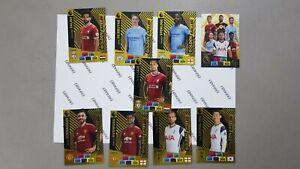 Panini-premier-league-golden-baller-2020-2021-Complete-set-9-Cards-adrenalyn-XL