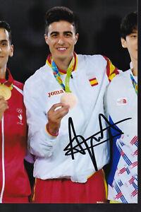 Joel GONZALEZ – ESP - Taekwondo – Olympia 3.OS Bronze 2016 Foto signiert
