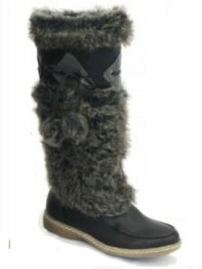 the latest 0001e 3ee6b Details zu stylischer Winterstiefel Mukluk Boots Damen Stiefel - schwarz 36  - 41