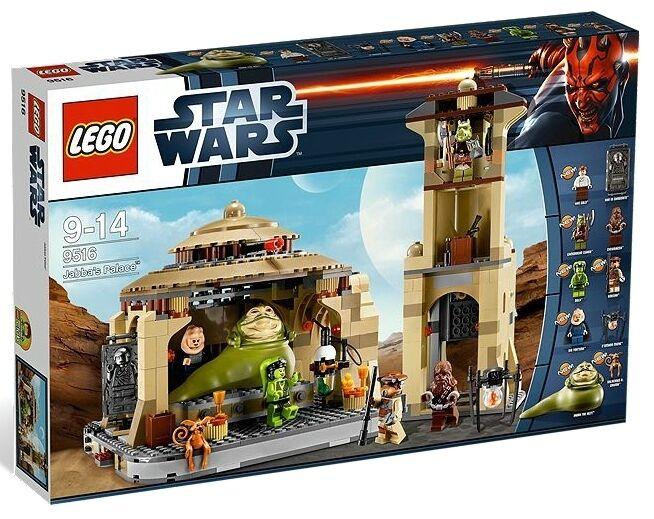 Lego - star - wars - klon 9516 in jabbas palast leia gamorrean jabba minifigures nisb