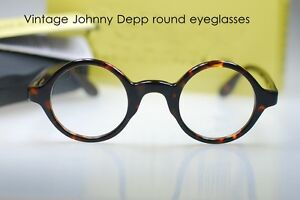373426db65e3 Image is loading Retro-Vintage-round-eyeglasses-Johnny-Depp-spectacle-mens-