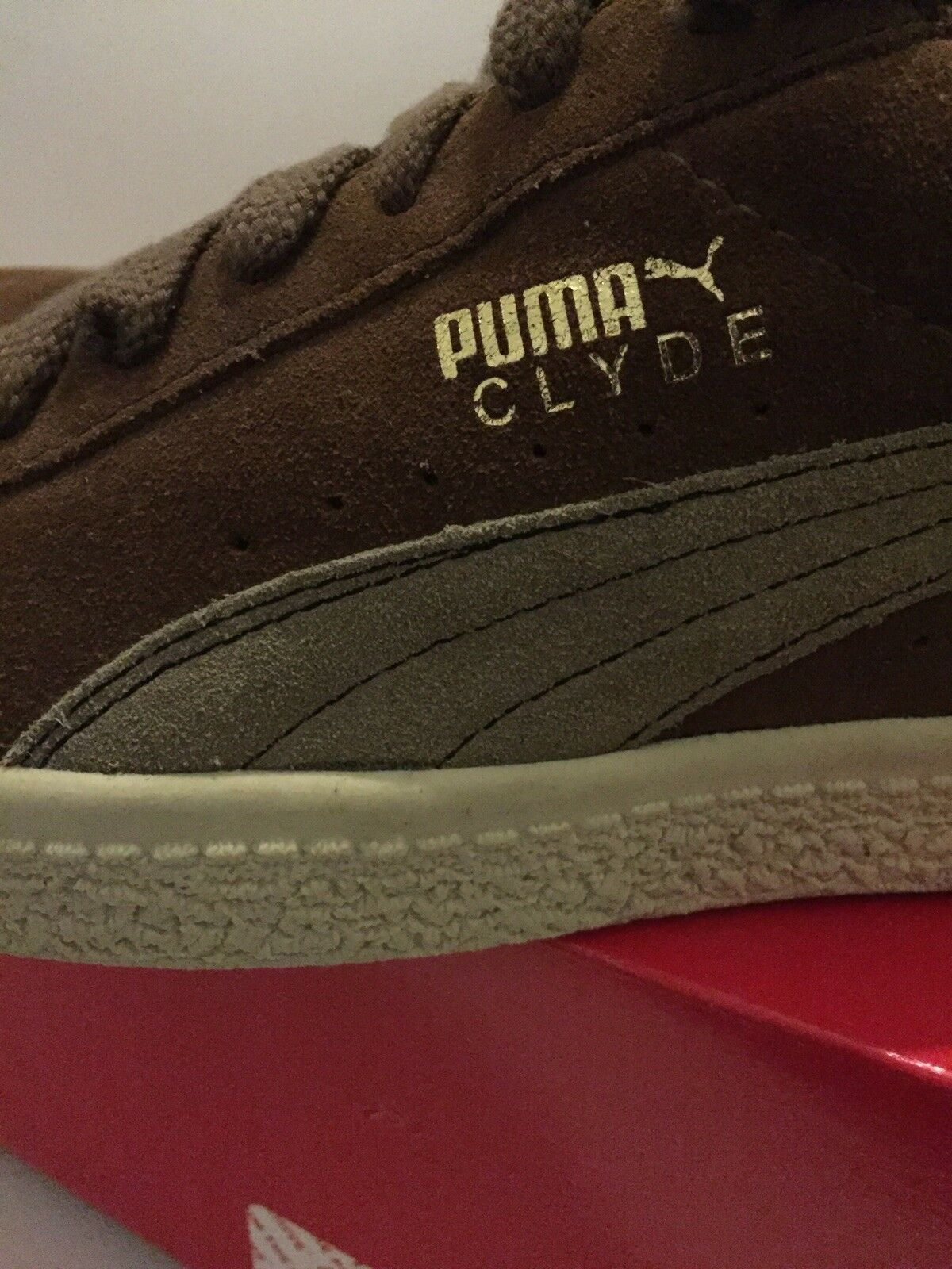 PUMA Clyde US 2005 Edition, marrone, Cord, US Clyde 9.5 898e77