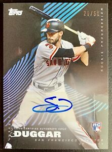 2019-Topps-On-Demand-STEVEN-DUGGAR-Autograph-Rookie-Progression-RC-Card-SP-50