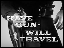 "PALADIN CHESS 4/"" x 5/"" HAVE GUN WILL TRAVEL LARGE FRIDGE MAGNET RICHARD BOONE"