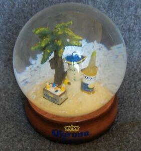 Very Good Condition CORONA EXTRA BEER Glass Snow Globe ...