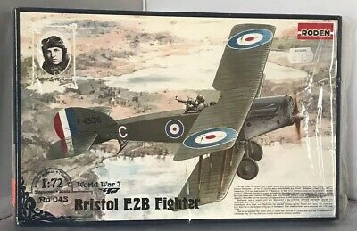 Diplomatic Roden 1/72 Bristol F.2b Fighter Ww1 Model Aircraft Sealed Parts