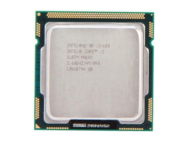 Original Intel Core i5-680 3.6 GHz Dual-Core (CM80616004806AA) Processor CPU