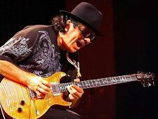 Carlos Santana Guitarist Music Concert Photograph Music Print Photo Picture A4