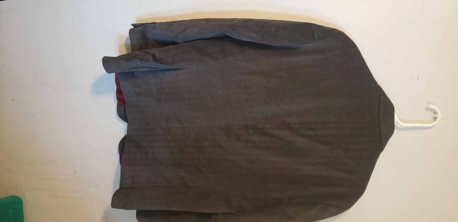 Michael Brandon blazer grey patterned velvet, ou… - image 6