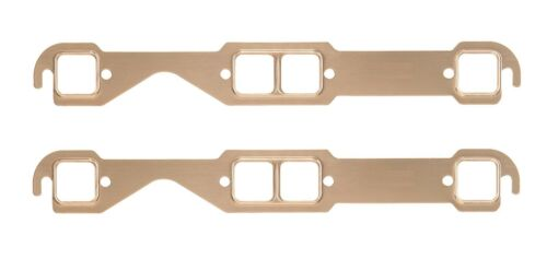 MAXX 151 Copper Exhaust Header Gaskets 1955-99 Small Block Chevy V8 Square Port