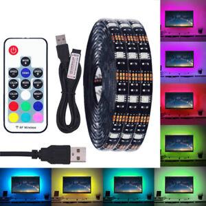 Dc 5v usb led strip 5050 ip65 rgb led light flexible for tv image is loading dc 5v usb led strip 5050 ip65 rgb mozeypictures Images