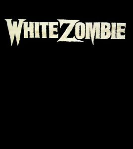 WHITE-ZOMBIE-cd-cvr-OG-WHITE-LOGO-Official-SHIRT-Size-XXL-2X-new