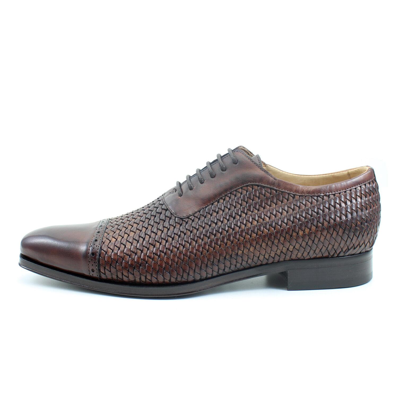 SCARPE UOMO francesine GIORGIO REA artigianali Italiane scarpe pelle 7551MA Scarpe classiche da uomo