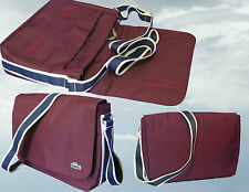 LACOSTE  MESSENGER Shoulder Bag Casual 2.8 Wine