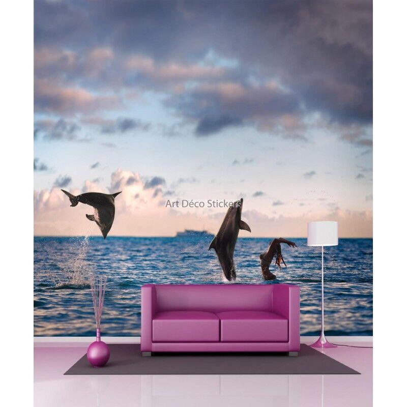 Carta Dipinto Gigante Delfini 11107 11107