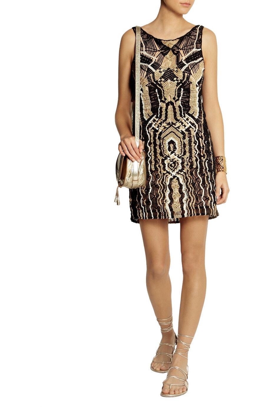 DIANE VON FURSTENBERG DVF Neapoli Dress Seen On Runway Celebrity Größe L
