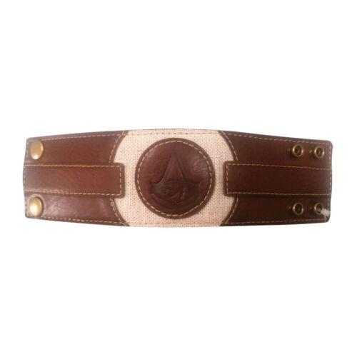 NEW Assassin/'s Creed Origins Logo Crest Bracelet taille unique marron//marron clair WB1001