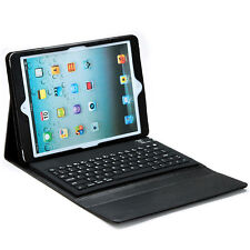 Wireless Bluetooth Keyboard Leather Case Cover For Apple New iPad 5 5th Gen Air