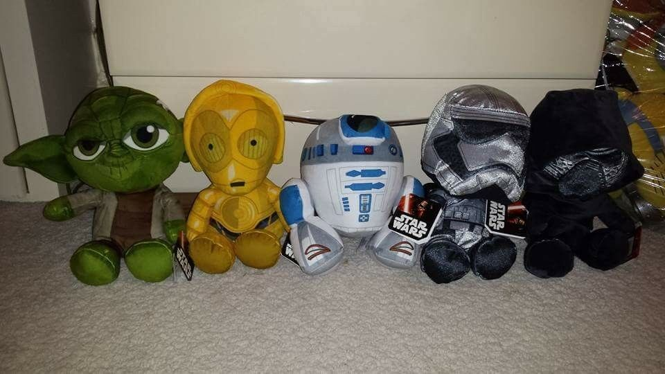 New Official Star Wars Soft Toys