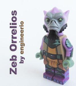 LEGO custom Zeb Orrelios Star Wars Rebels 75053 ezra kanan ...  LEGO custom Zeb...