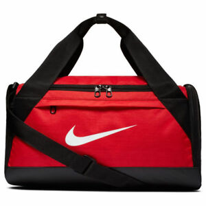 f9679e06372 Nike BRASILIA TRAINING DUFFEL Extra-Small Bag Red BA5982-657 c   eBay