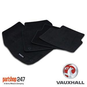 Genuine Vauxhall Insignia A Tailored Velour Carpet Floor Mats Set 2009-2013