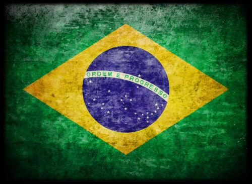 100ct Max Protection Standard Shuffle-Tech Sleeves BRAZIL Flag BRASIL Auriverde
