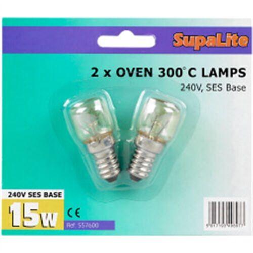 """Supalite 300 Ã /""""Â ° C Four Lampes 240 V 15 W ses"""