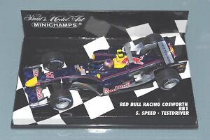 Pilote de test de vitesse Scott Speedworth Cosworth Rb1 F1 au 1/43 Red Bull Racing